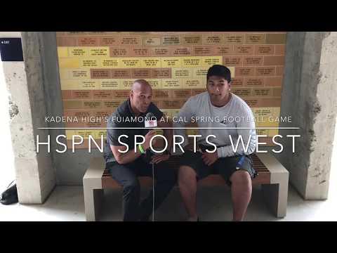 "Siulagisipai ""Siu"" Fuimaono Interview Cal Berkeley -LIVE HIGH SCHOOL FOOTBALL BROADCAST & LIVESTREAM"
