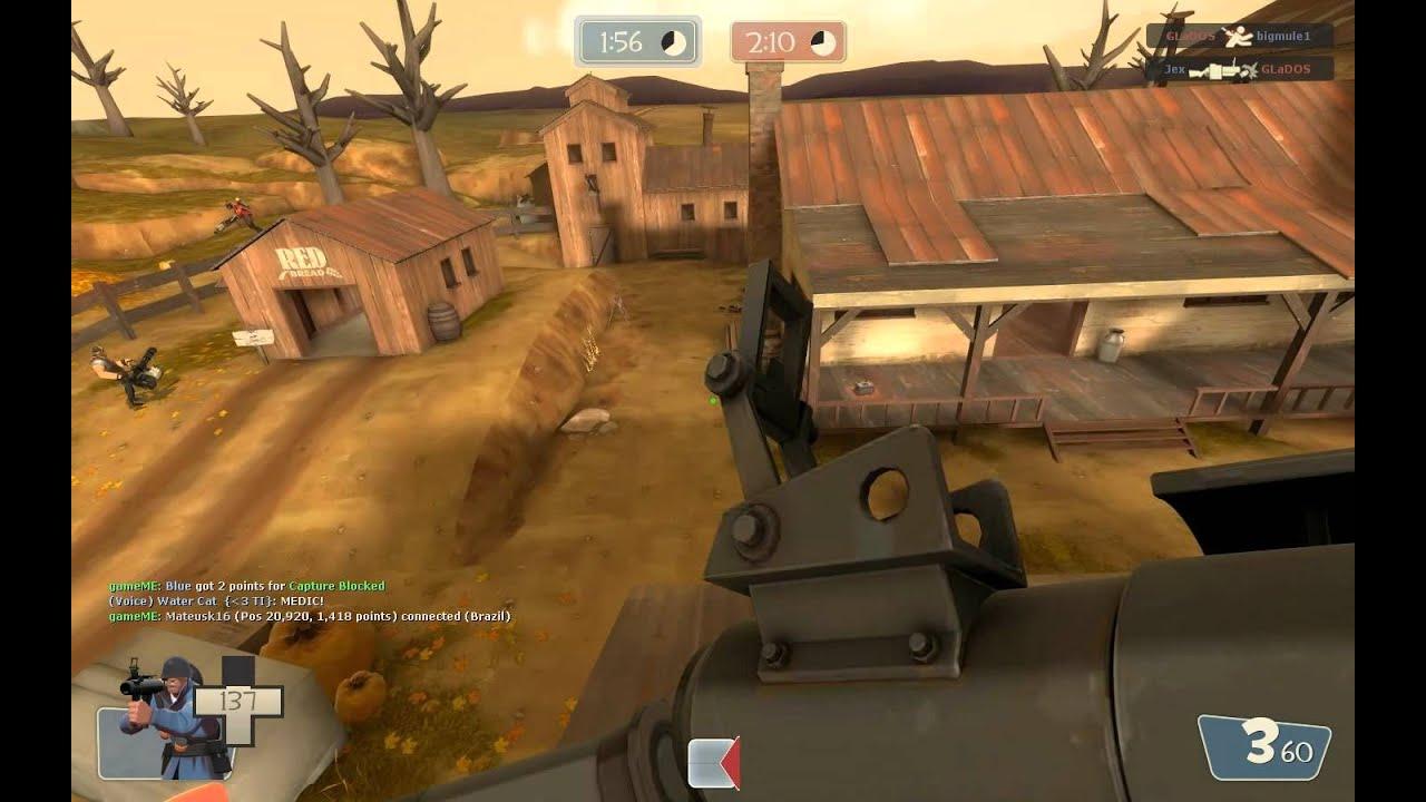 TF2 - Herp Derp Soldier with Rocket Jumper, Mantreads, Market ...