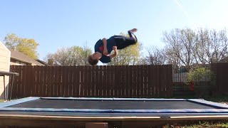 How to do a Back Full/Backflip 360 on a Trampoline! (Tutorials Week #6)