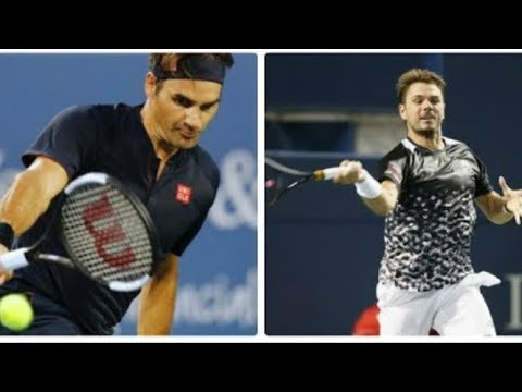 Roger Federer Vs Stan Wawrinka - QF Cincinnati 2018 Highlights HD - Roger Federer