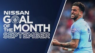 SEPTEMBER GOAL OF THE MONTH 18/19 | Walker, Gundogan, Houghton, Aguero