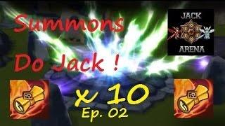 Summons do Jack Tricken ! Ep. 02 - Arena Summoners War