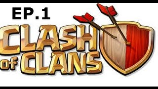 """Clash of Clans Ep.1-MAKIN"""" A COMEBACK 