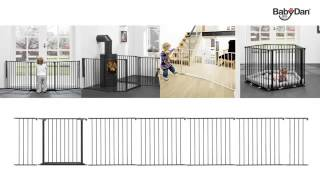 Baby Dan Medium Configure Gate  From Little Dreamers