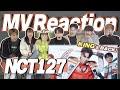 eng&esp NCT 127 'PUNCH' MV Reaction | 엔시티 127 펀치 뮤직비디오 리액션 | J2N Vlog