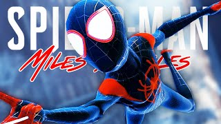 Into the SPIDERVERSE Suit in Spider-Man Miles Morales PS5!
