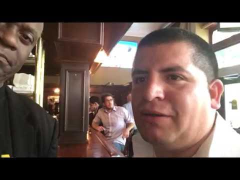Octavio At Royal Exchange SF Talks NBA Finals Warriors Game 6 In Spanish