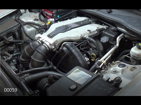 2003 Cadillac CTS 32  Changing spark plugs how to  YouTube