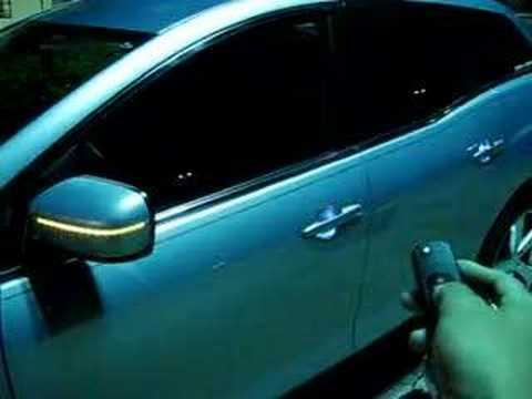 Custom Car Door Handles cx7 w// custom led door handle courtesy lights version 2 - youtube