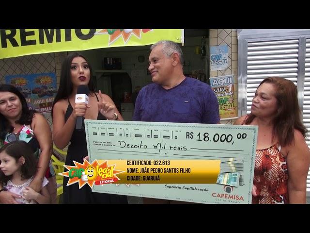 Guarujá e Peruíbe, levou 18 Mil Reais pra casa 💰