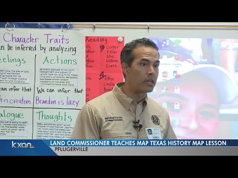 Riojas Elementary School students get surprise lesson on maps