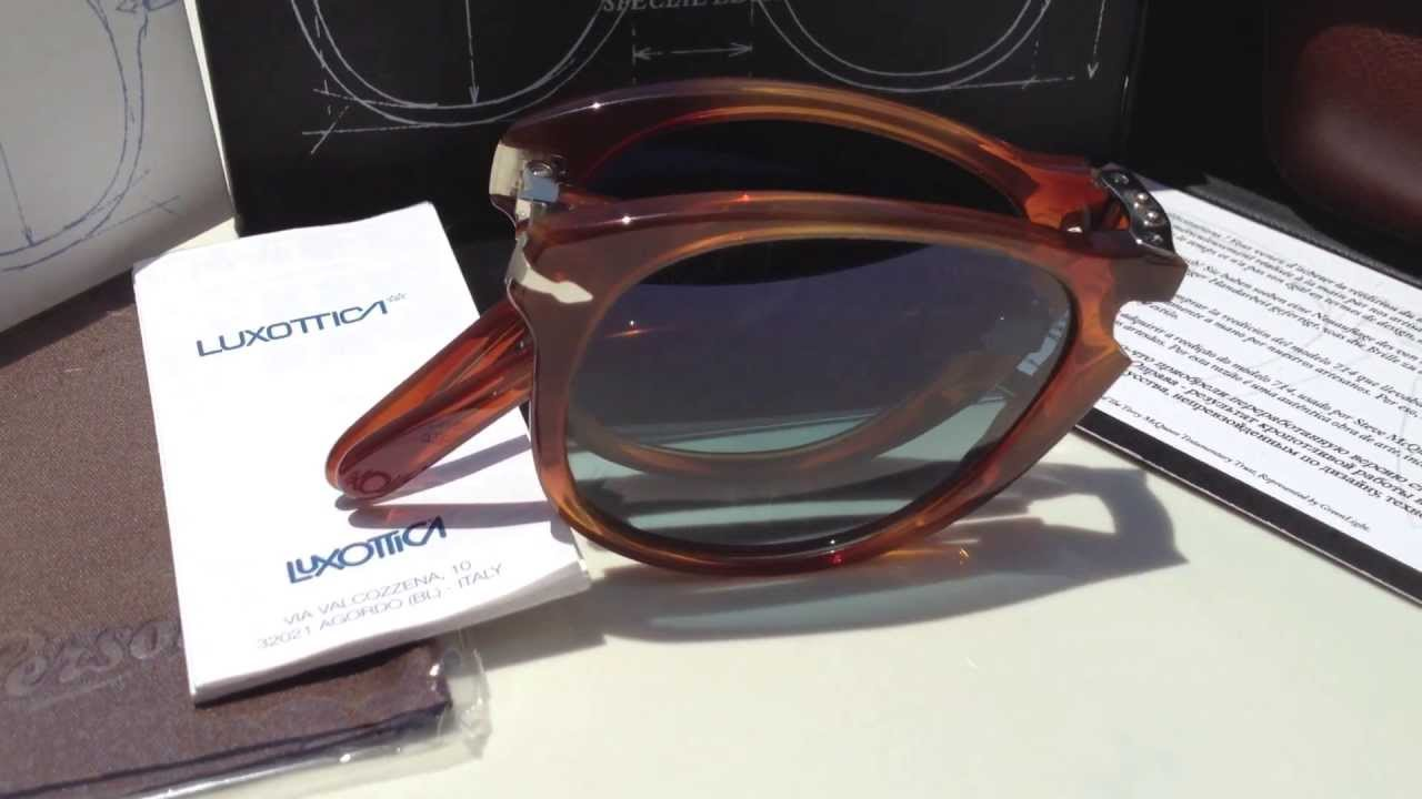 2f236469dbe4f Persol 714 SM (Steve McQueen) Special Edition Sunglasses (54mm 96 S3) -  YouTube