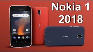 Новый ультрабюджетный смартфон Nokia 1