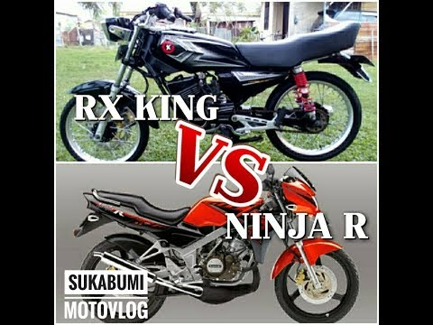 Ninja Vs RX King (Kejar-Kejaran Dengan Sang Raja) #sukabumi-motovlog