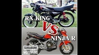 Download Video Ninja Vs RX King (Kejar-Kejaran Dengan Sang Raja) #sukabumi-motovlog MP3 3GP MP4