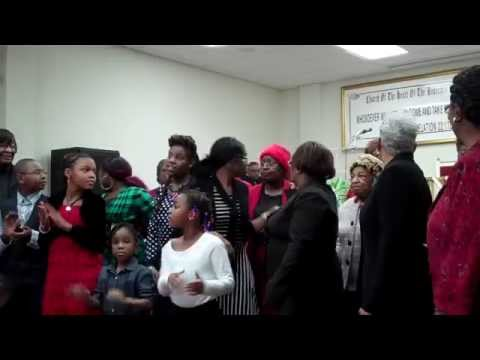 Pray on My Child - Enon Baptist Combined Choir @ Christ-Universal Church