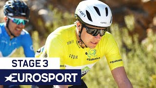 Vuelta a Valencia 2019 | Stage 3 Highlights | Cycling | Eurosport