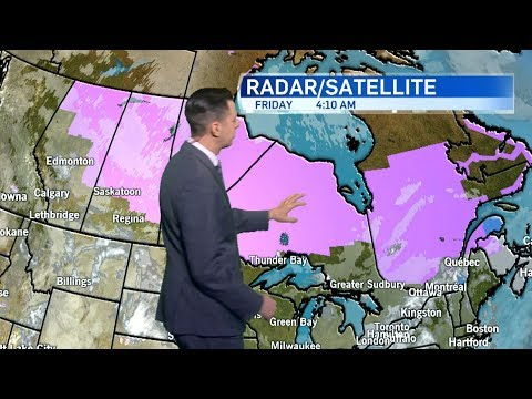 Extreme Cold, Snow Expected To Hit Parts Of Canada