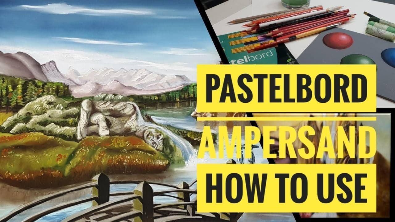 ampersand pastelbord pastelbord by ampersand pastel colored pencil