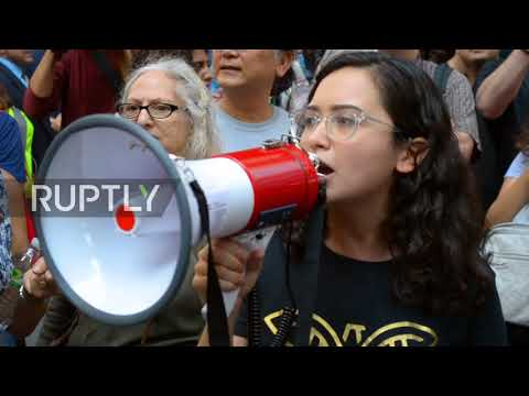 USA: Protesters flood streets outside Trump Tower against end of DACA programme
