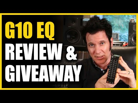 G10 EQ Giveaway and Review - Warren Huart: Produce Like A Pro