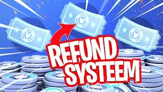 THIS IS HOW THE REFUND SYSTEM WORKS!! Ask your VBUCKS back here in FORTNITE!