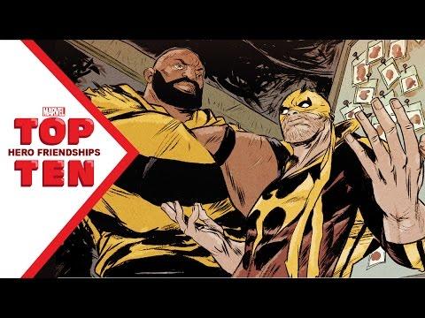 Marvel Top 10 Hero Friendships