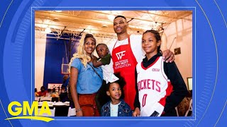 Houston Rockets player Russell Westbrook launches campaign to help families in LA l GMA