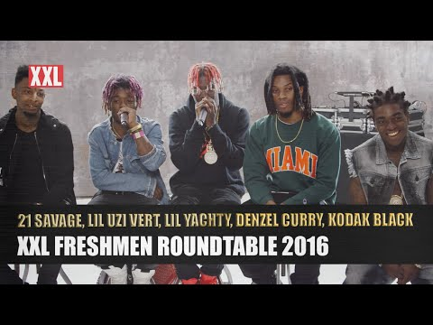 Lil Uzi Vert, Lil Yachty, Kodak Black, 21 Savage & Denzel Curry's 2016 XXL Freshmen Interview