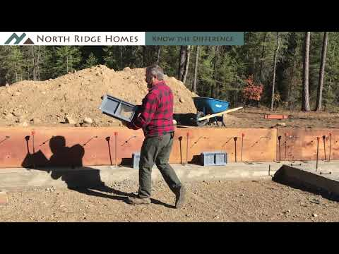Custom Homes Series - Episode 8: Forming Foundation Walls