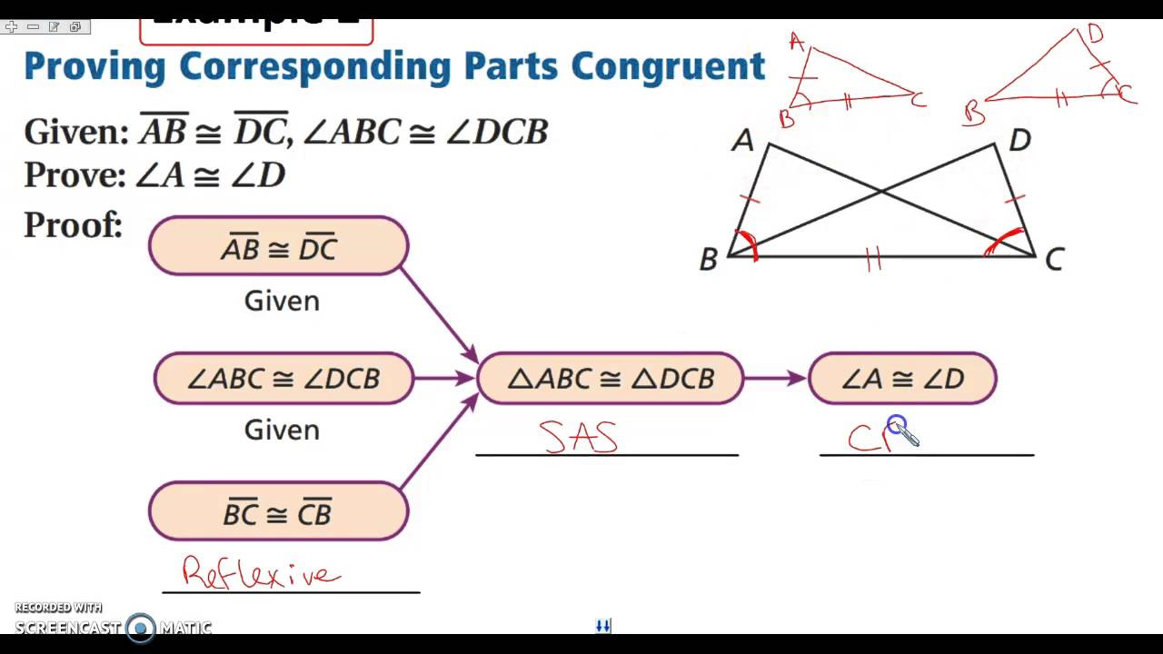 worksheet Cpctc Proofs Worksheet With Answers 4 7 triangle congruence cpctc youtube cpctc