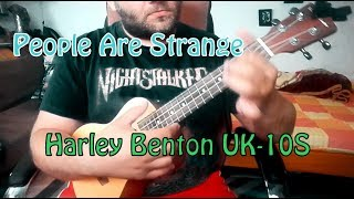 People Are Strange - The Doors (Ukulele Cover) Harley Benton Concert UK-10S