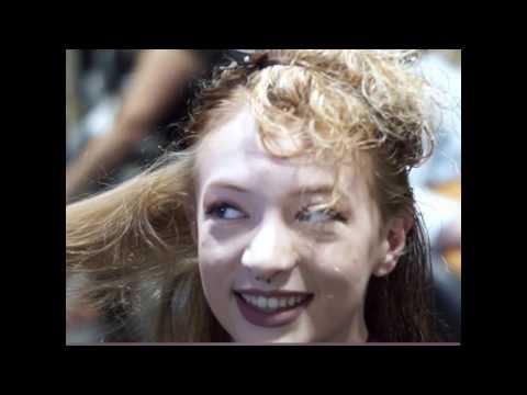 Formula 18 hair lightening system demo at Hot Seat Salon San Diego