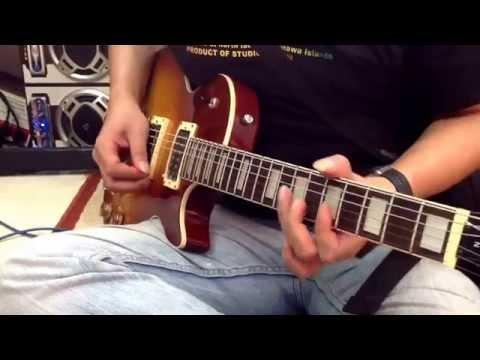 Belajar melodi sweet Child of mine-pentatonic blues Full HD