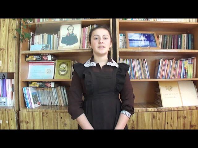 Изображение предпросмотра прочтения – КристинаВеретенникова читает произведение «Неохотно инесмело…» Ф.И.Тютчева