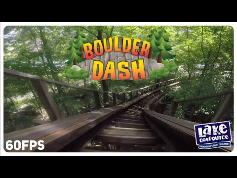 Boulder Dash In-between The Tracks On-ride 1080p 60fps POV - Lake Compounce, Bristol CT