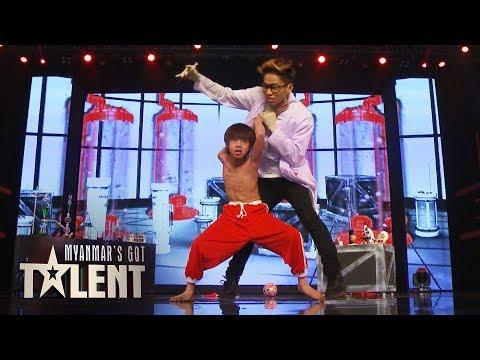 Lin Maw Kon: Semi-Final 2 | Myanmars Got Talent 2018