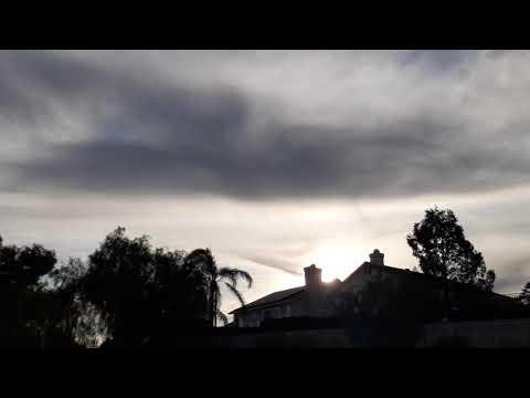 Skycrap Alert: Riverside Ca,🤔👀🏳WEATHER WHAT!? USA