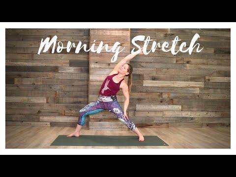 Morning Stretch 15min Flow- Alicia Bowman Yoga