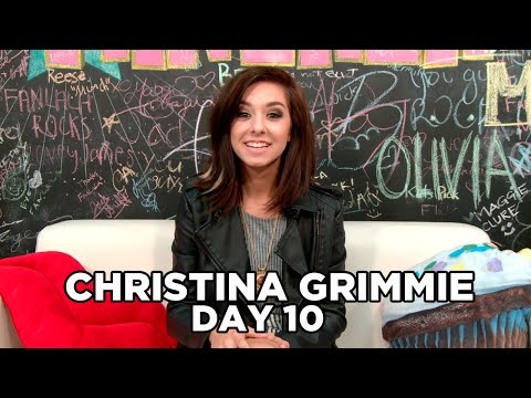 Christina Grimmie Raps! 10 Days of Christina Grimmie, Day 10