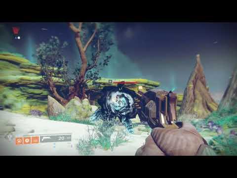 Destiny 2 Forsaken Get to Io Lost Oasis Grove of Ulan Tan and Ghaul Devotee Bounty