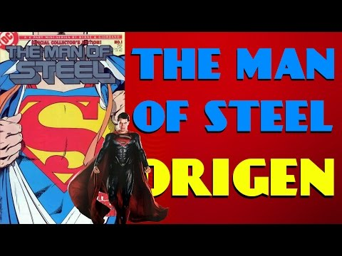 The Man Of Steel #1 (comic)