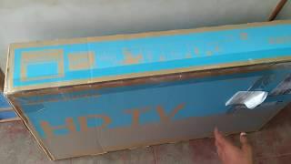 Samsung UA32T4010ARXXL 32 inch HD Ready LED TV Unboxing