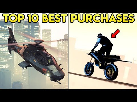 TOP 10 BEST PURCHASES IN GTA ONLINE (Updated 2018)