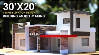30X20 | SMALL RESIDENTIAL BUILDING | 1BHK |  North east facing thumbnail