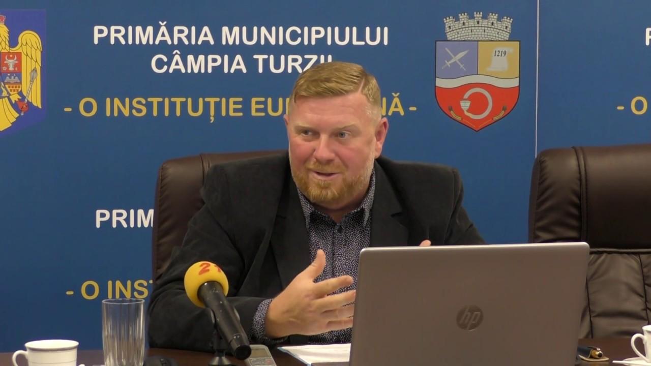 Prezentare stadiu proiecte europene, la Câmpia Turzii (17.09.2019)