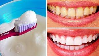 отбелить зубы в домашних условиях за 5 минут содой