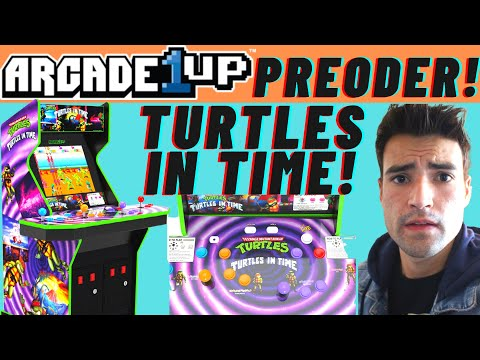 PREORDER THE ARCADE1UP TEENAGE MUTANT NINJA TURTLES IN TIME CABINET TOMORROW! from Brick Rod