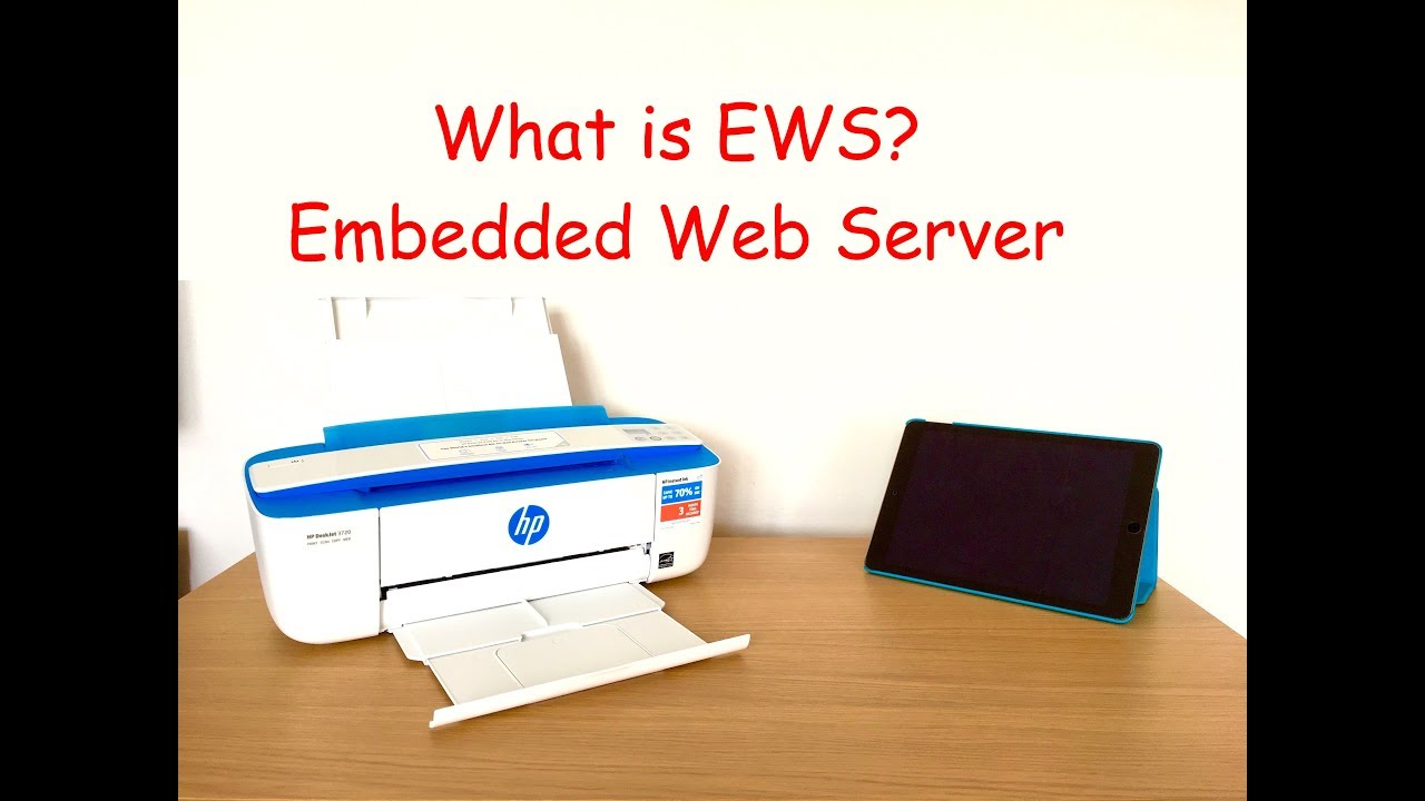 Change HP printer default WiFi direct password and other settings via  Embedded Web Server