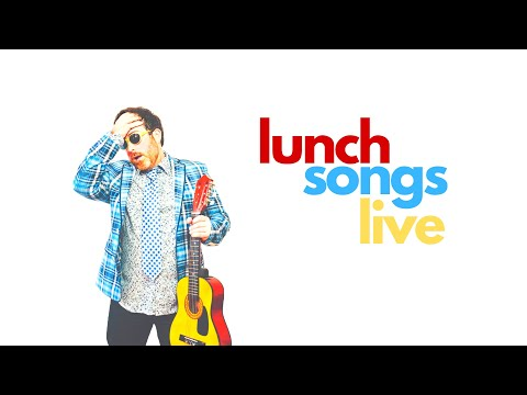 LUNCH SONGS LIVE with Chris Robley #Music
